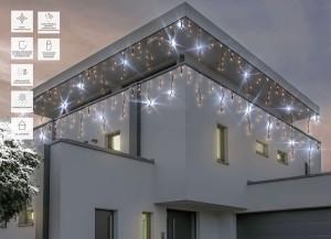 Zewnętrzne Kurtyny świetlne Lampki Led Oświetlenie świąteczne