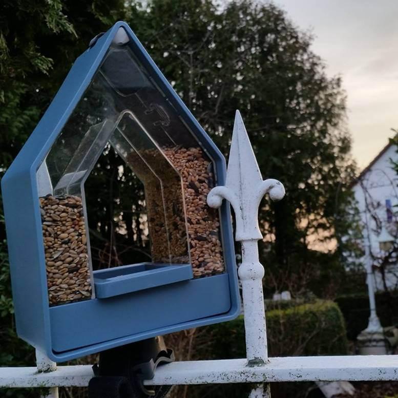 Nowoczesny Karmnik Dla Ptaków